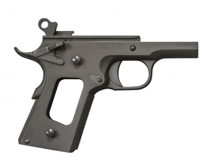 1911 Lower Frame Assembly - Officers / Micro